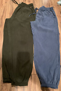 LOTS Of 2 Victoria Secret PINK Joggers Size Medium