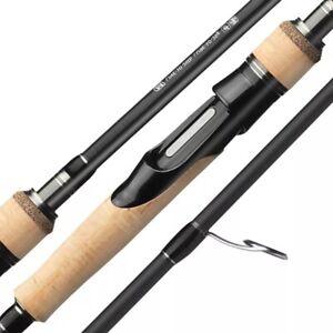 Fishing Rod 1.68m 1.8m 2.1m 2.4m 2.7m 2/3 Baitcasting Casting Spinning Travel