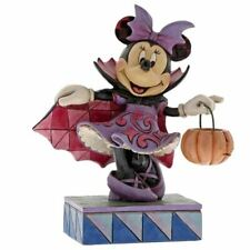 Disney Traditions Minnie Mouse Violet Vampire Collectors Figurine - Halloween