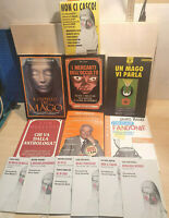 Lotto stock 7 Libri Indagini sul Paranormale Piero Angela, James Randi, Polidoro