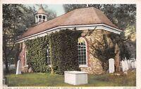 Tarrytown New York 1920s Postcard Old Dutch Church Sleepy Hollow