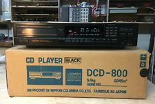 Vintage Denon DCD-800 CD Player. New drive belt, boxed with remote.