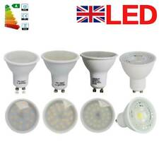 12/10/4x GU10 4W 6W 7W LED Spotlight Light Bulb Downlight Lamp Energy Saving A++