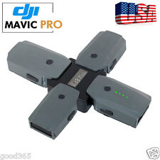4in1 Intelligent Multi Battery Charger Screen Display Charging Hub for DJI MAVIC