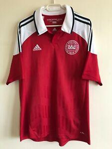 Football shirt DENMARK home 2012/2013 Adidas