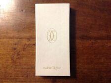 Must de Cartier étui lunette plat cuir bordeaux 1986