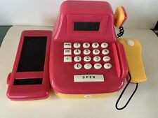 Play Circle by Battat – Pink Cash Register Set with Sounds  Scanner, Calculator