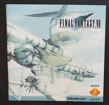 Game Manual Only - NO GAME - Final Fantasy 7 - PS1 - Very Good