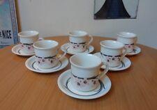 BILTONS,STAFFORDSHIRE 12 PIECE TEA SET-6 CUPS & SAUCERS