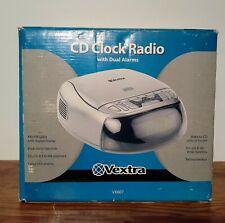 Vextra Am/Fm Clock Radio with Am/Fm Radio Alarm Cd Player Vx607 Works