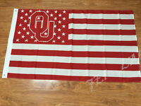 Oklahoma Sooners 3x5 Feet Banner Flag University NCAA