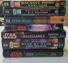 Star Wars Hardcover Book Lot | Allegiance, Star By Star, Vector Prime... |