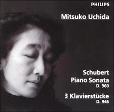 Mitsuko Uchida - Schubert: Piano Sonata D. 960; 3 Klavierstcke D. 946 Philips CD