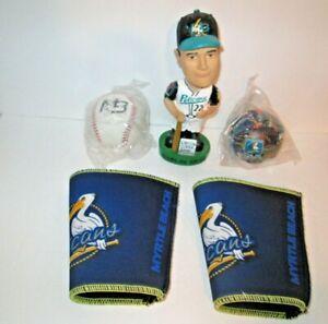 1 Lot of Minor League Myrtle Beach Pelicans Baseball Team Fan Items