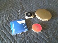 Vintage makeup compacts lot of 4 Volupte and others