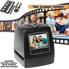 "Film Scanner Convert 35mm /135mm Slide Negative to Digital Picture 2.36"" TFT LCD"