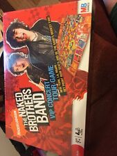 NAKED BROTHERS BAND NEW SEALED NICKELODEON VIP CONCERT TOUR GAME 2008 NIB