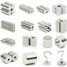 20-100XStrong Ring Disc Cylinder Hook Tiny Magnets Rare Earth Neodymium 5U1jitd