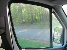 Mercedes Sprinter front window mosquito screens magnetic