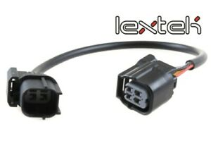 Honda CB650F, CB650R 2014 to 2018 Lextek Lambda Sensor Extension Lead (200mm)