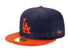 New Era 5950 LOS ANGELES DODGERS LA MLB Baseball Cap New Era Fitted Hat Navy