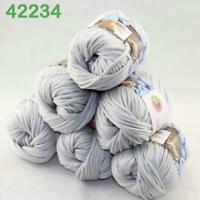 AIPYARN Sale 6Ballsx50g Soft Cotton Chunky Super Bulky Hand Knit Crochet Yarn 34