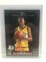 Kevin Durant RC 2007 Topps Black NBA Card