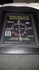 Megadeth Trust Rare Original Radio Promo Poster Ad Framed!
