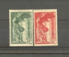 "FRANCE STAMP TIMBRE 354/55 "" VICTOIRE SAMOTHRACE LOUVRE 1937 "" NEUFS xx TTB H606"