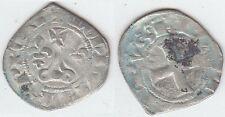 PHILIPPE IV Le Bel (1285-1314) Double  Tournois  en billon Exemplaire N° 4