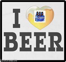 I Love Bud Light Beer Refrigerator Magnet