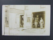 Wooster Ohio OH R.L. Miller Blacksmith Shop Horseshoeing Real Photo RPPC c1910