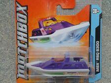 Matchbox 2012 #020/120 MBX RSQ 6300 purple over white