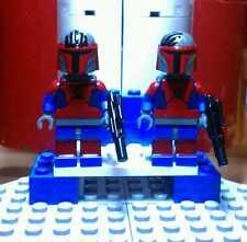 Lego Star Wars Darth Maul Mandolorian Super Commando Custom Minifigures
