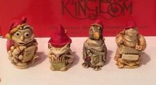 Nib Set of 4 Christmas Ornaments 1998 Harmony Kingdom Tjzse98 #3,515 of 10,000