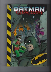 1999 DC Comics BATMAN Cataclysm signed by Chuck Dixon OOP