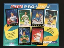 1991 FLEER Pro-Visions 12th National Convention Limited Edition *FREE SHIPPING*