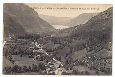 nantua vallée de neyrolles , pradon et lac de nantua