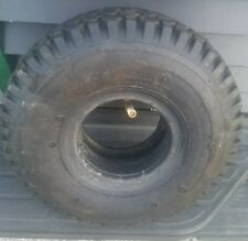(2) USED 4.10-3.50-4 Stud Tires Go-Kart, Snow Blower, Dolly, Snapper & tube