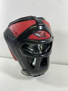 RDX Model: HGR T1R Head Guard with Removable Face Cage MMA Martial Arts XL