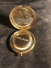 Estee Lauder Lucidity Translucent  Powder  in a Goldtone Compact Mirrored Case