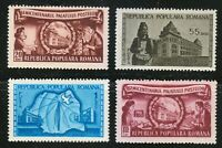 Romania 1953 MNH Mi 1445-1448 Sc 964-967 Postal Administration Building **