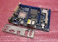 ASRock G41M-VS3 VGA DDR3 mATX FSB1333 PCI-E Motherboard and Backplate