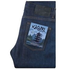 Naked and Famous Jeans Super Guy Fit 12.5 oz Kasuri Selvedge Denim W28 Oi Polloi