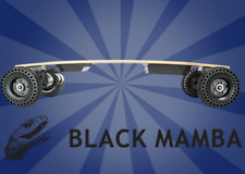 2019 Black Mamba Electric Longboard  Emoto USA All-Terrain Fastest Skateboard