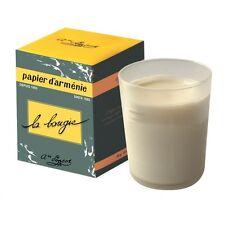 Bougie parfumée - Papier d'Arménie