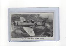 """Blackburn """"Roc""""  fleet air arm fighter Valentine's  RP  postcard"""