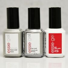 ESSIE GEL UV LED Nail Kit - Pick 1 Color + Base + Top Coat 0.42 oz Set -SHIP 24H