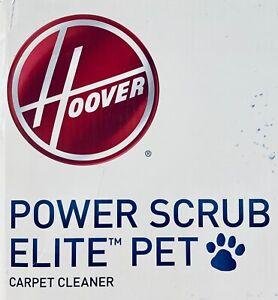 Hoover Power Scrub Elite Pet Carpet Cleaner FH50251 Red