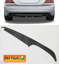 MERCEDES BENZ W211 E CLASS REAR DIFFUSER / SPLITTER / VALANCE